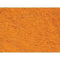 氧化铁橙硅藻泥塑料橡胶涂料油漆水泥地面用色粉氧化铁橙960